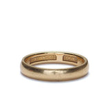 Vintage 18K gold wedding band c. 1913 #VR0103-02 - Leigh Jay & Co.