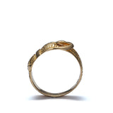 Circa 1908 18k yellow gold Buckle ring #VR0125-07