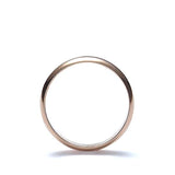 Rose Gold Wedding Band #VR0128-01 - Leigh Jay & Co.
