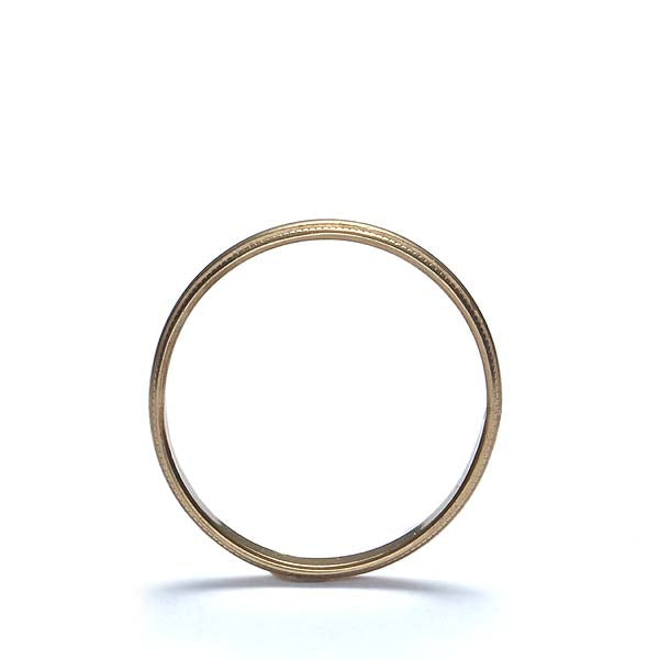 Vintage 10K wedding band #VR0730-04 - Leigh Jay & Co.