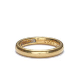 Circa 1903 Wedding band in 22K gold #VR0806-03 - Leigh Jay & Co.