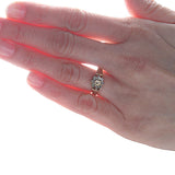 Circa 1985 Flower top ring #VR0808-03 - Leigh Jay & Co.