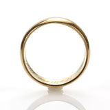 Antique 18K Yellow gold wedding band. #VR0816-05 - Leigh Jay & Co.