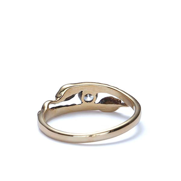 Contemporary Estate Serpent Ring #VR0822-09 - Leigh Jay & Co.