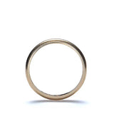Antique 14k yellow gold wedding band. #VR0827-03 - Leigh Jay & Co.