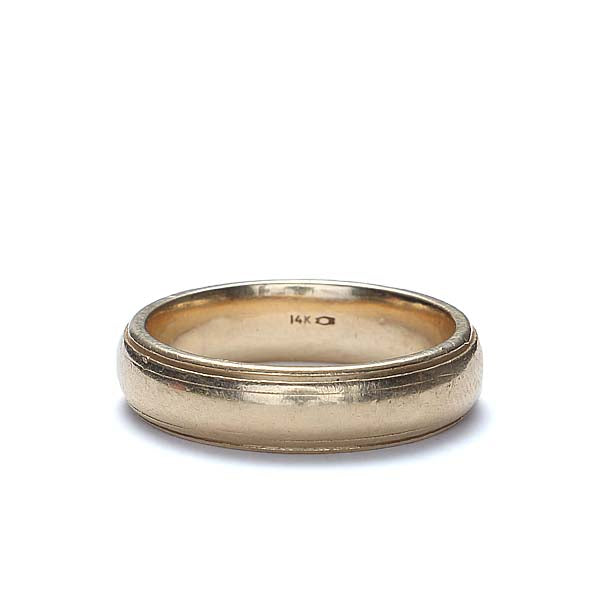 C. 1950s Gent's wedding band #VR1001-05 - Leigh Jay & Co.