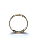 Contemporary Estate English Wedding Band #VR10318-01 - Leigh Jay & Co.