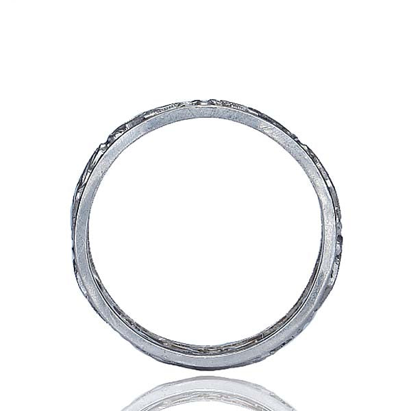 Estate Platinum Wedding band #VR10327-01 - Leigh Jay & Co.