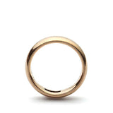 Vintage rose gold Wedding band, Circa 1901 #VR1211d - Leigh Jay & Co.