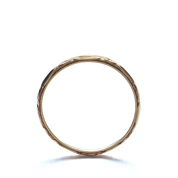 Circa 1930s Wedding band by Belais Jewlers #VR140515-02