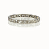 Art Deco  Diamond eternity band #VR140811-06