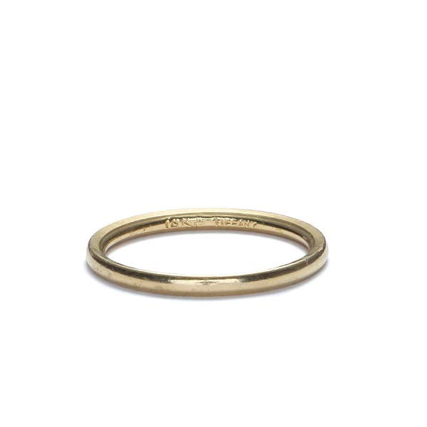 Midcentury Tiffany & Co. Wedding band. #VR140811-07 - Leigh Jay & Co.