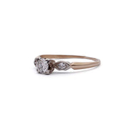 1940s Vintage Engagement Ring #VR141002-04A - Leigh Jay & Co.