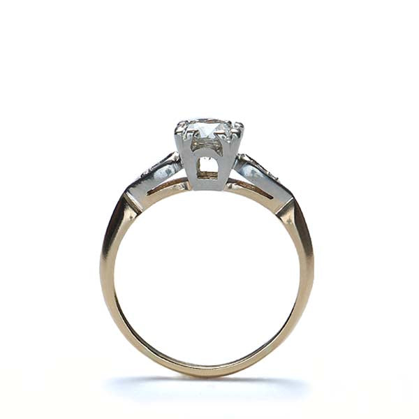 Circa 1940s Diamond Engagement Ring #VR141104-05 - Leigh Jay & Co.