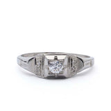 Circa 1930s Engagement Ring #VR14707-12 - Leigh Jay & Co.