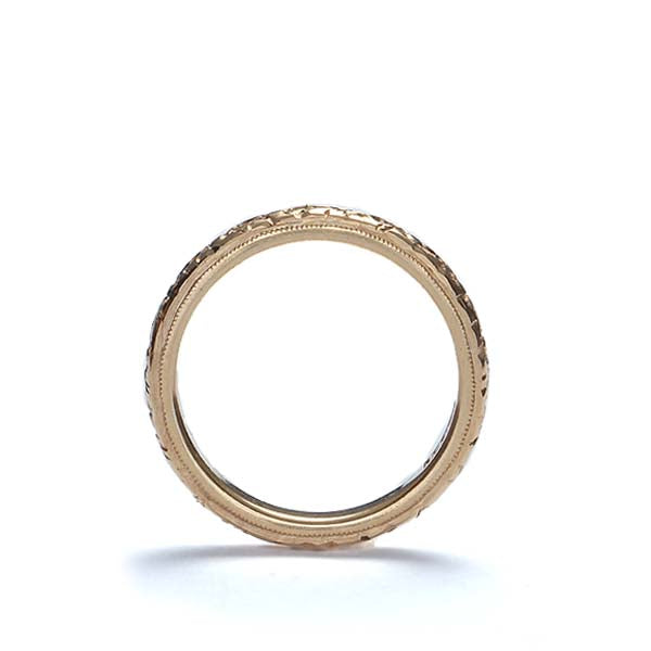 Vintage Wedding band #VR150122-02 - Leigh Jay & Co.