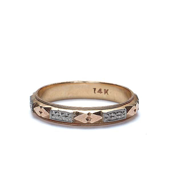 Vintage Wedding band #VR150616-14 - Leigh Jay & Co.