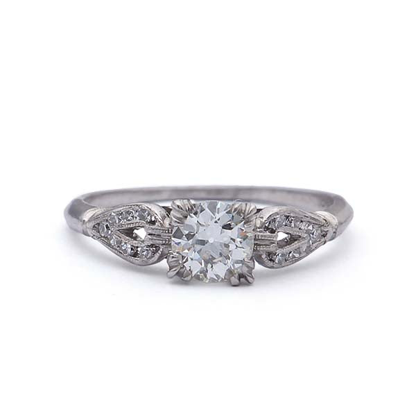 Circa 1930s Diamond Engagement Ring #VR150711-02 - Leigh Jay & Co.