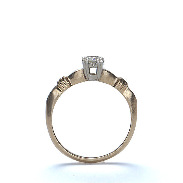 Circa 1940s Diamond Engagement Ring #VR150714-03 - Leigh Jay & Co.