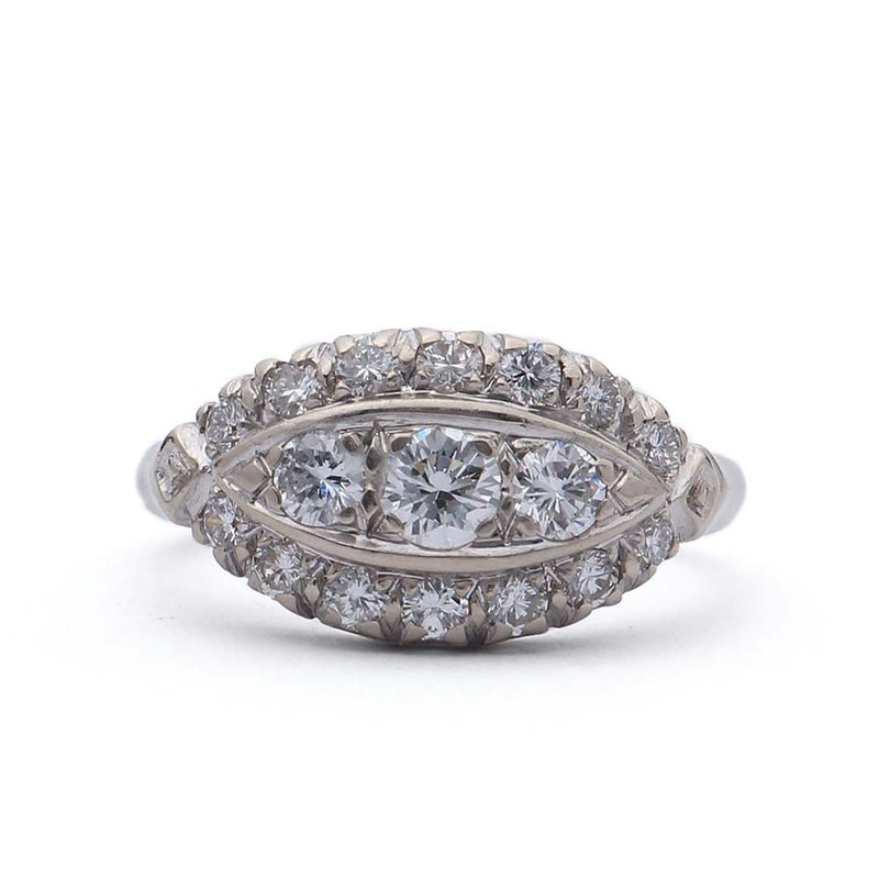 Circa 1950s Diamond Ring. #VR150910-02 - Leigh Jay & Co.