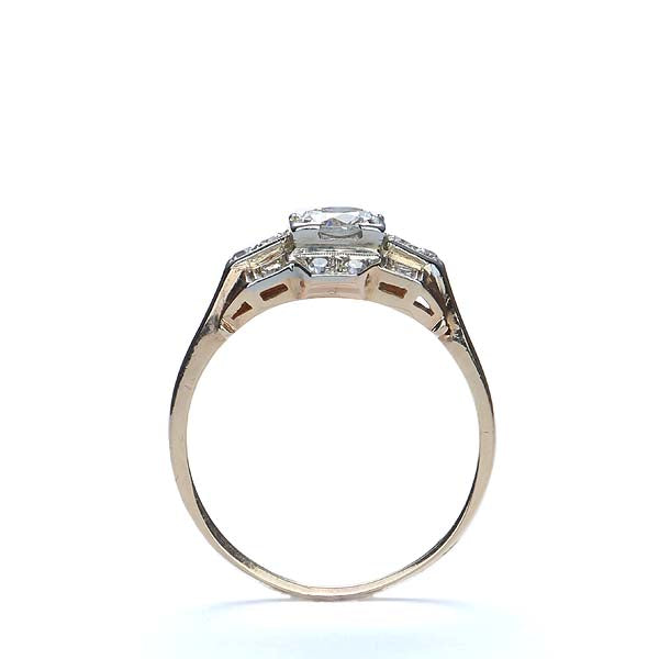 Circa 1940s Diamond Engagement Ring #VR151031-04 - Leigh Jay & Co.