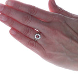 Edwardian Diamond Cluster ring. #VR151031-07 - Leigh Jay & Co.