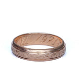 Circa 1971 Wedding band #VR151119-01 - Leigh Jay & Co.