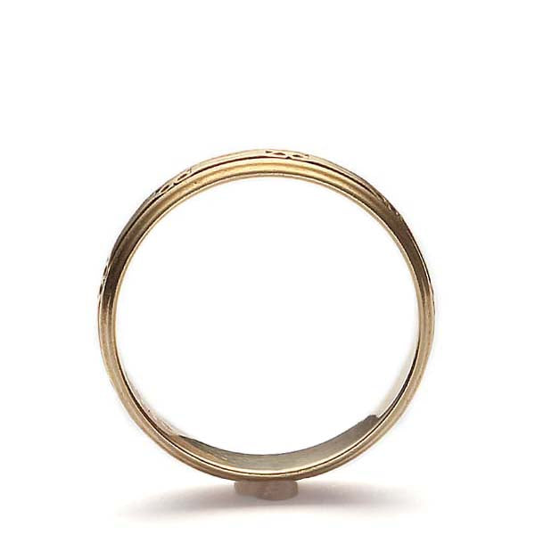 Vintage Wedding band #VR160211-01 - Leigh Jay & Co.