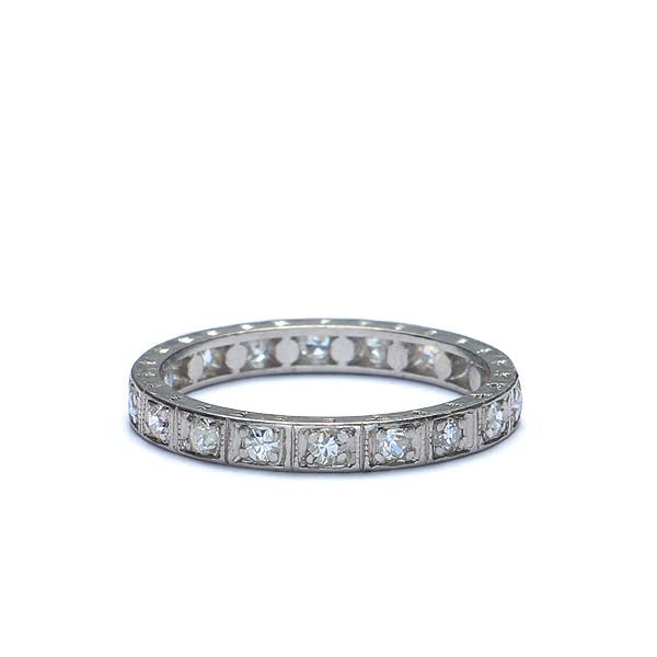 Art Deco Eternity Band #VR160212-11