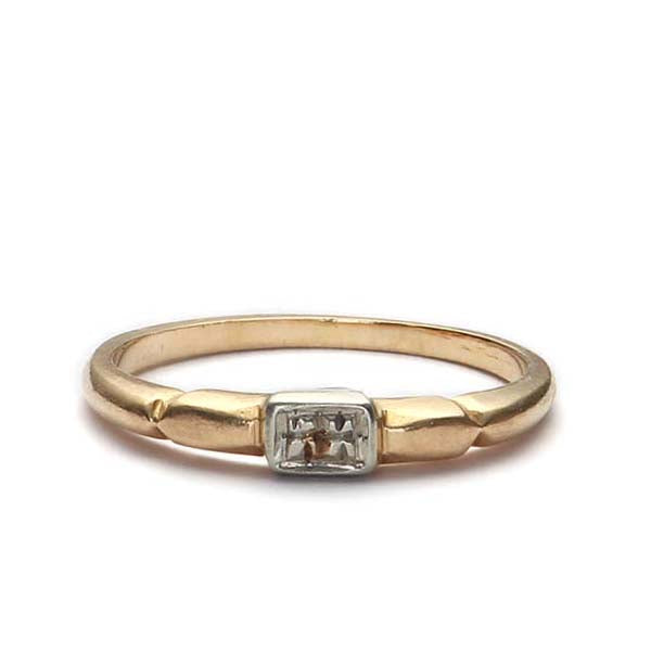 Vintage Wedding band #VR160226-02 - Leigh Jay & Co.