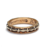 Circa 1940 Wedding band #VR160325-01 - Leigh Jay & Co.