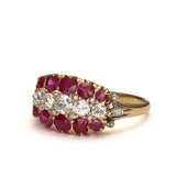 Victorian Ruby and Diamond Ring #VR160505-25 - Leigh Jay & Co.