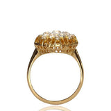 Stunning Victorian Diamond Blossom Ring #VR160514-12a - Leigh Jay & Co.