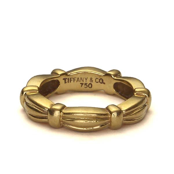 Contemporary Tiffany and Co. Gold Band. #VR160514-14 - Leigh Jay & Co.