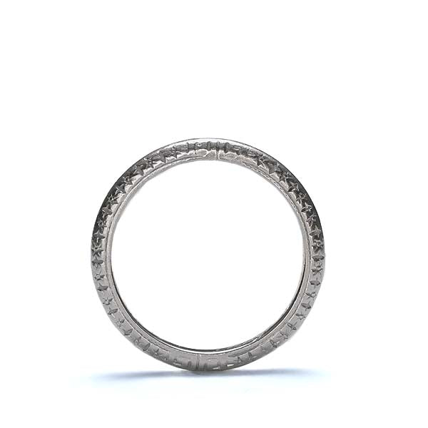 Circa 1918 Wedding band by Tiffany & Co. #VR160610-03 - Leigh Jay & Co.