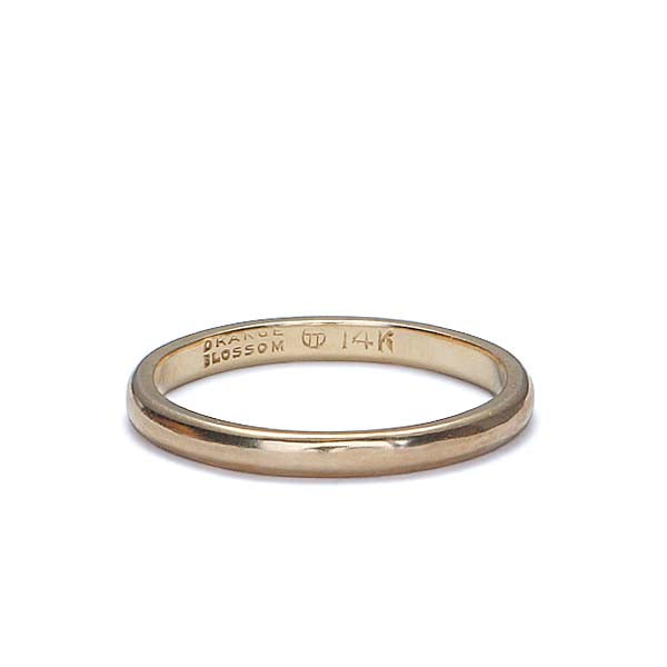 Vintage wedding Band by Traub Jewelers #VR160614-04 - Leigh Jay & Co.