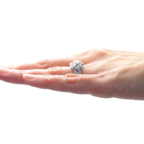 Circa 1950s Diamond Ring #VR160908-02 - Leigh Jay & Co.