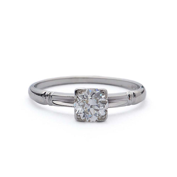 Circa 1930s Engagement Ring #VR160913-6 - Leigh Jay & Co.