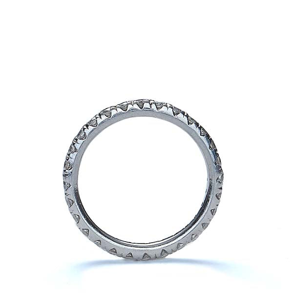 Contemporary Diamond Eternity band #VR161006-1