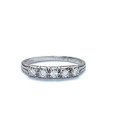 Jabel Diamond Wedding band #VR161010-06 - Leigh Jay & Co.