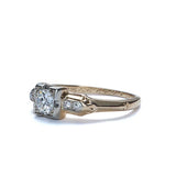 Circa 1930s Engagement Ring by Jabel Jewelers. #VR161017-01 - Leigh Jay & Co.