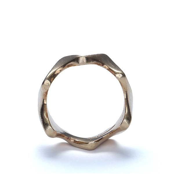 Midcentury Modernist Gold Ring #VR161025-01 - Leigh Jay & Co.