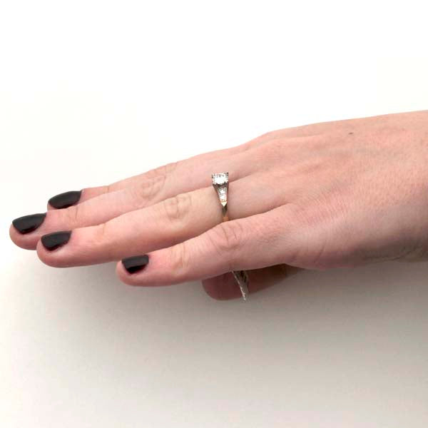 Circa 1940s Diamond Engagement Ring by Traub Jewelers #VR161227-03 - Leigh Jay & Co.