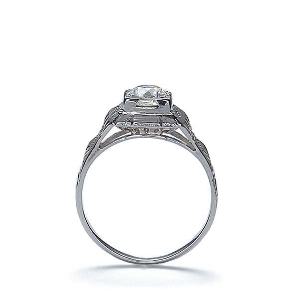 Circa 1930s Diamond Engagement ring #VR170501-01 - Leigh Jay & Co.