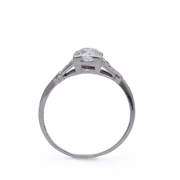 Art Deco Engagement ring #VR180117-6 - Leigh Jay & Co.