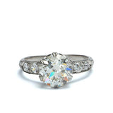 Edwardian  Engagement Ring #VR180125-1 - Leigh Jay & Co.