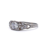 Circa 1930s Engagement Ring #VR180424-1 - Leigh Jay & Co.
