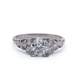 Art Deco Engagement Ring #VR180821-1