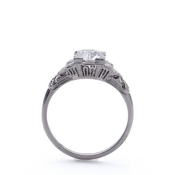 Art Deco Engagement Ring #VR180821-1 - Leigh Jay & Co.