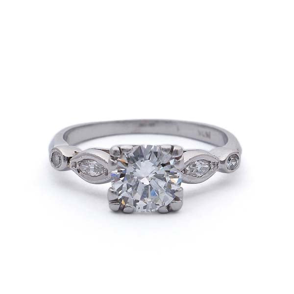 Circa 1930s Engagement Ring #VR180914-2 - Leigh Jay & Co.